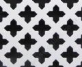 Small Cross 16mm White Grille Powder Coated Steel Decorative Sheet 1000mm x 660mm x 1 mm